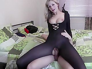 Chick With A Large Ass Is Fucked