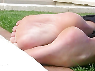Horny amateur Foot Fetish sex scene